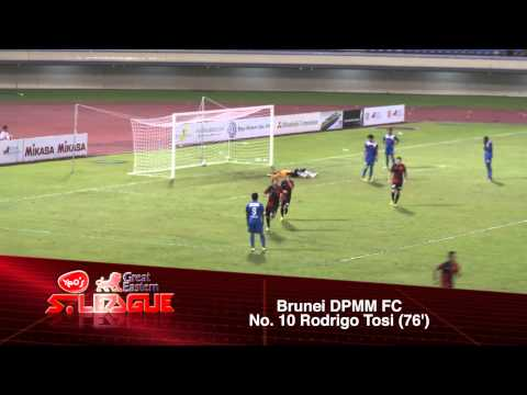 Great Eastern Yeo's S.League 2014: Brunei DPMM FC vs Home United FC