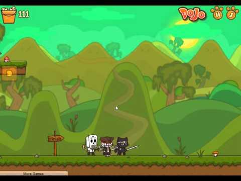 flash games StrikeForce Kitty 2 Коты Ударная сила 2 пятая серия