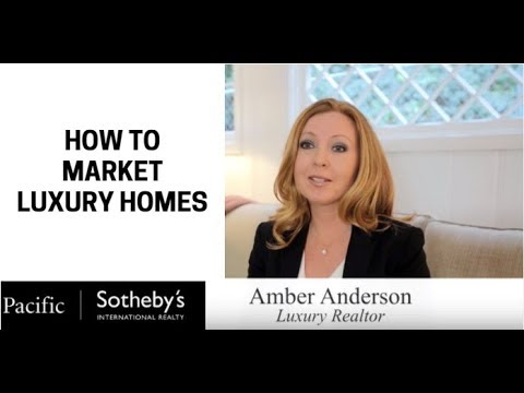 How to market a LUXURY HOME | Amber Anderson shows you how!