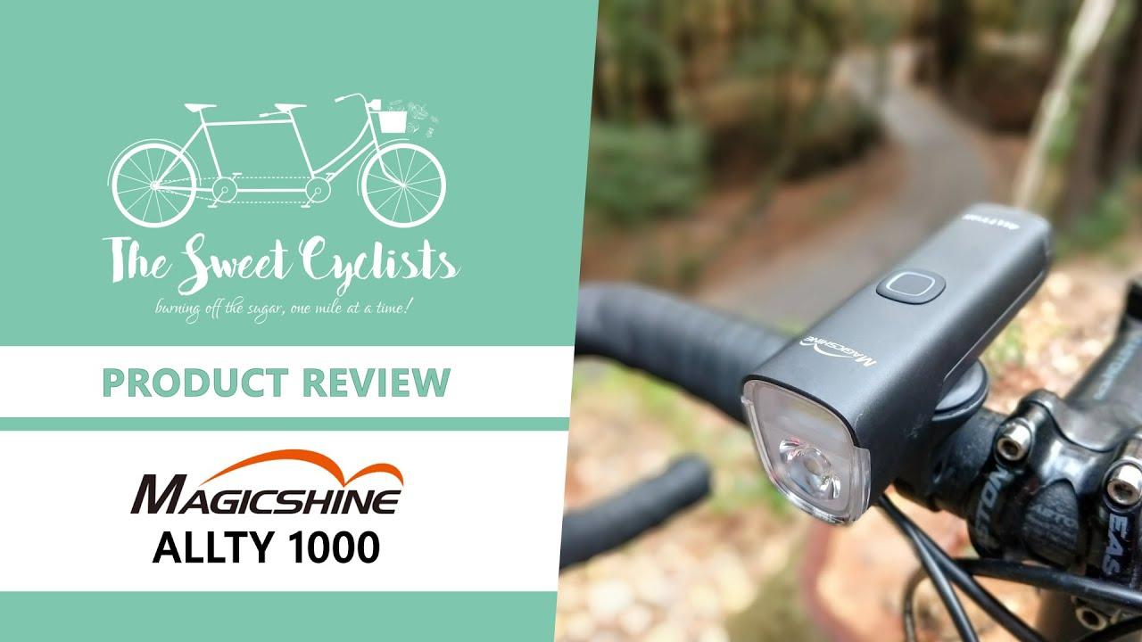 Magicshine Allty 1000 Led Bike Headlight Feat Drl Garmin