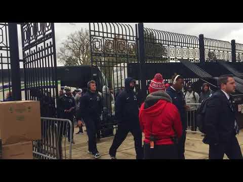 Penn State Ohio State pregame scenes: Lions arrive at Ohio Stadium