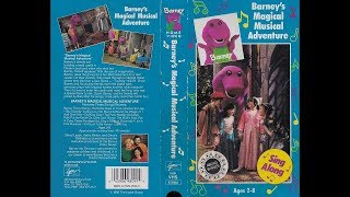 VHS Reactions Season 3 Episode 19- Opening To Barneys Magical Musical Adventure 1993 VHS