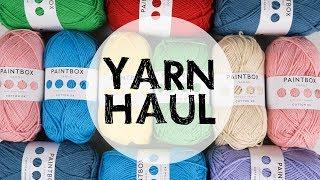 Yarn Haul - Paintbox Yarns   Croby Patterns