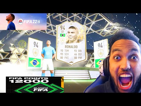 THIS IS WHAT 12,000 FIFA POINTS GETS YOU IN FIFA 22! - FIFA 22 Ultimate Team  