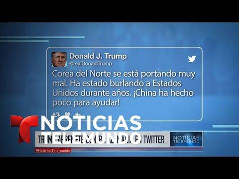 Trump arremete contra Alemania por Twitter tras visita de canciller | Noticiero | Noticias Telemundo