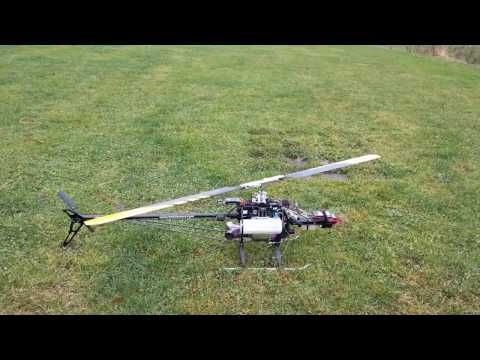 ArduCopter 3.4.3 - Turbine helicopter