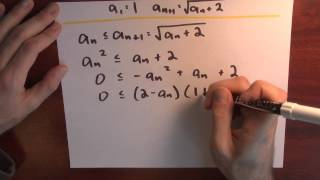 How can the Monotone Convergence Theorem help? - Week 1 - Lecture 15 - Sequences and Series