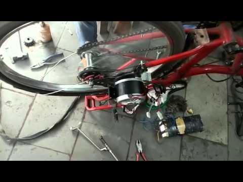 My1016z2 250w 36v Motor Electric Bike Side Mount Youtube