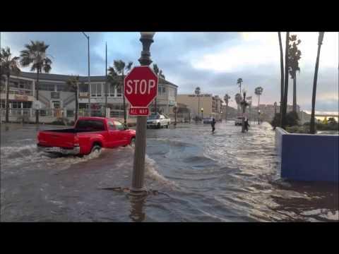 Free Download Flooding In Ocean Beach 1/6/2016 San Diego Mp3 dan Mp4