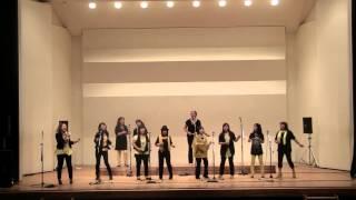 """I Will Follow Him(""""Chariot"""") 2012年9月YAMAHAゴスペルコンサート 大原"""