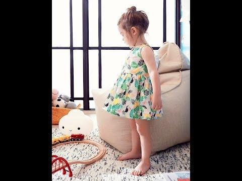 Koton Kız Çocuk Yazlık Elbise Modelleri 2017