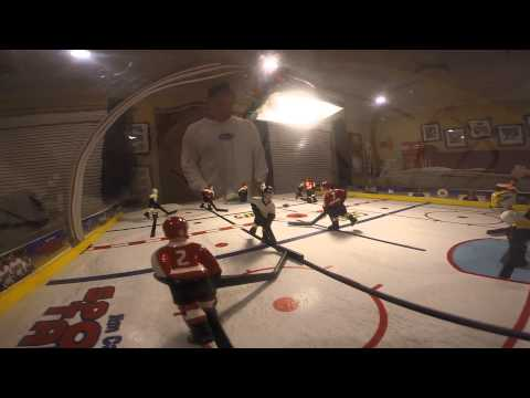 SLAP SHOT Bubble Hockey With GoPro