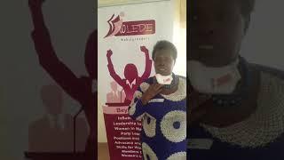 Women leader success story from North Uganda