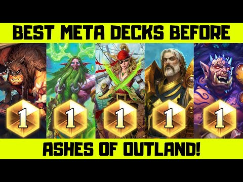 Best Hearthstone Decks Before The New Expansion