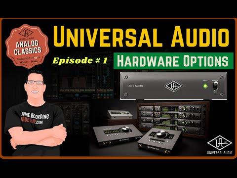 Universal Audio Series 2021   Apollo Interfaces & Satellite System   Episode # 1