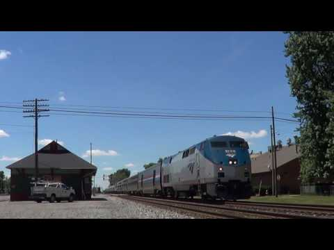 Amtrak Reroute On the B&O!