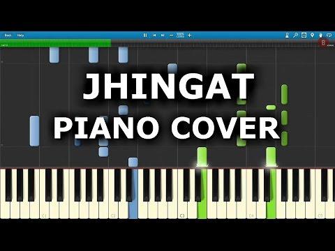 JHINGAT PIANO COVER | SAIRAT | Chords,Tutorial,Notes,Melody | Ajay Atul