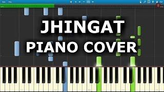 JHINGAT PIANO COVER   SAIRAT   Chords,Tutorial,Notes,Melody   Ajay Atul