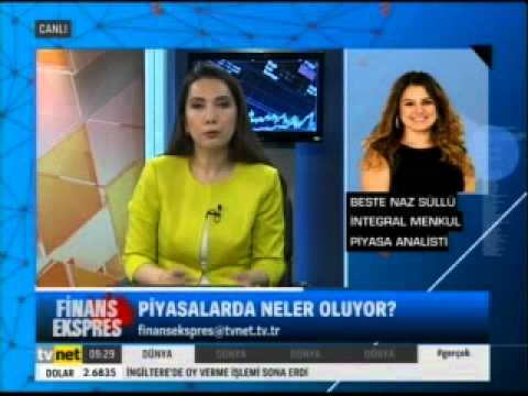 Sinem Köseoğlu ile Finans Ekspres Tvnet'te. Konuk: Prof. Dr. Kerem Alkin -08.05.2015