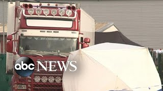 39 bodies found in truck in England l ABC News