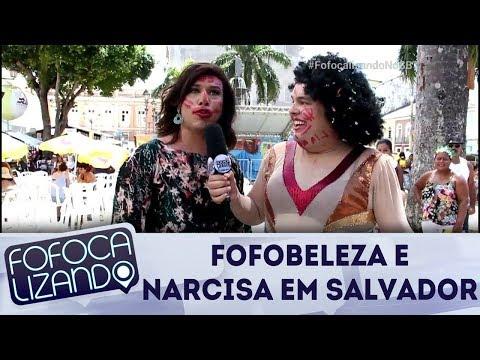Fofobeleza e Narcisa aprontam em Salvador | Fofocalizando (14/02/18)