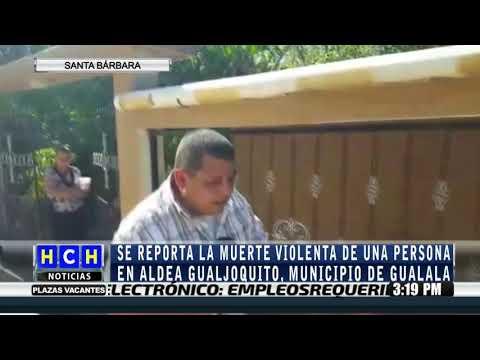 Sin vida encuentran  una persona en Gualjoquito, Gualala, Santa Bárbara