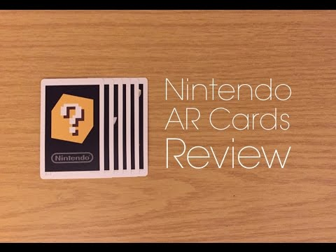 Nintendo AR Cards - Review