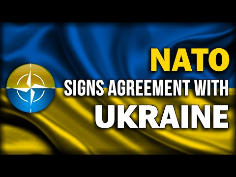 NATO FORMS ALLIANCE WITH UKRAINE