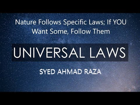 Universal Laws of Nature (A MUST WATCH!!!)