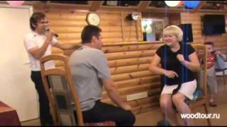 видео Снять баню и отдых в коттедже на базе «Лесная Гавань»