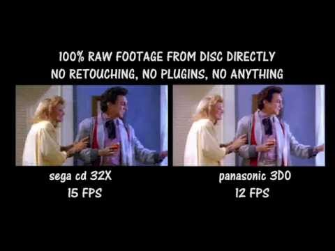 Sega CD 32X vs Pansonic 3D0, FMV Comparison