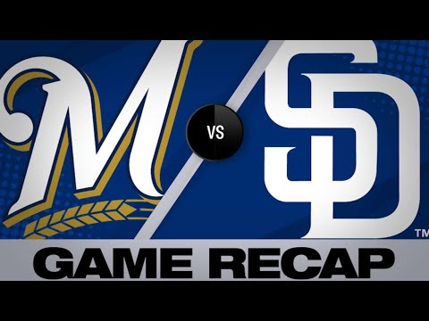 San Diego Padres score shutout victory over Milwaukee Brewers