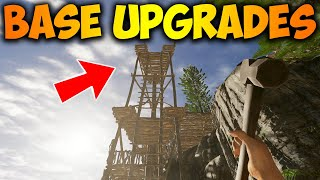 Huge Base Upgrades And Building Watch Towers Stranded Deep Gameplay PS4 PRO