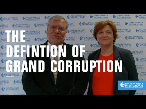 Definition of Grand Corruption - Transparency International