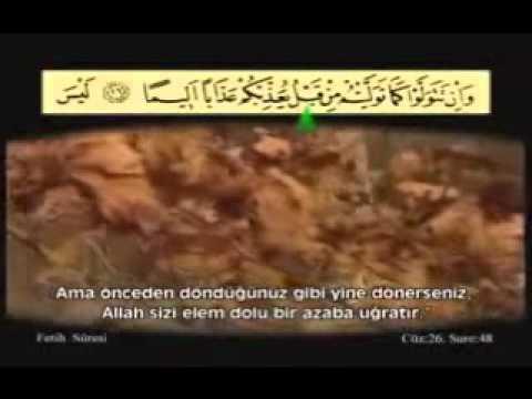 Ahmet El Acemi---Fetih Suresi-1/1