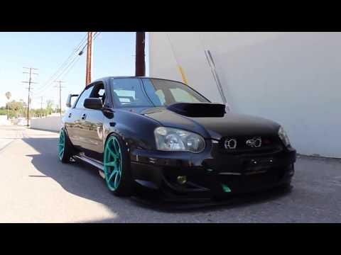Black Subaru Impreza WRX STI