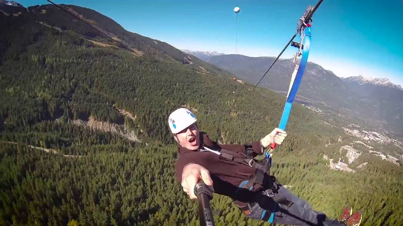 The Sasquatch Promo Longest Zipline In Canada Usa