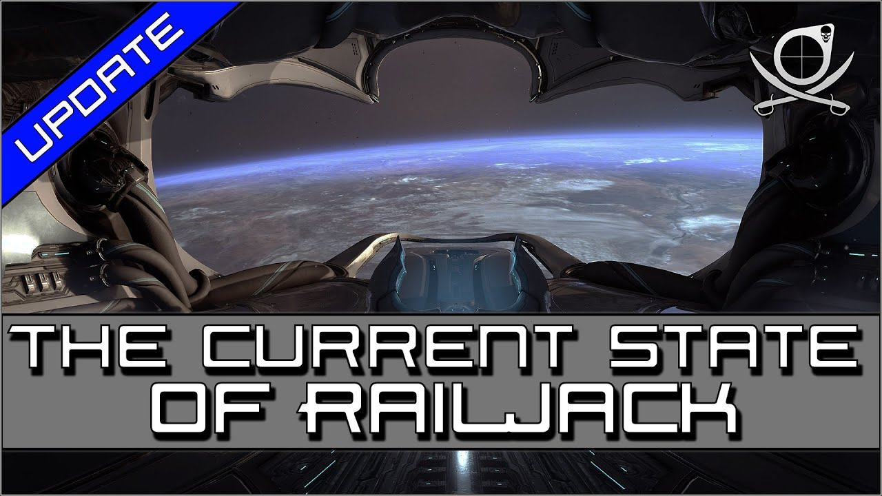 My Thoughts On The Current State Of Railjack! - Solo build included!   Warframe thumbnail