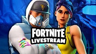 PLAYING WITH SUBS + THE VISITOR SKIN! // ROAD TO 3,000 SUBS // FORTNITE: BATTLE ROYALE