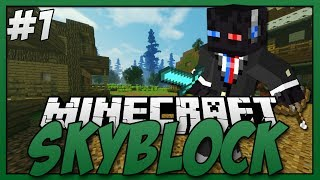 Minecraft - Skyblock S3 #1 - Co-op Island, Montage Bliss.