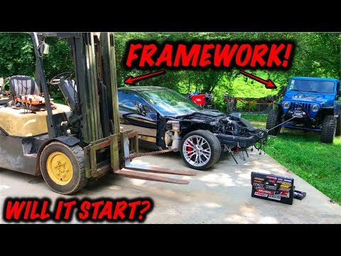 Rebuilding A Wrecked 2017 Corvette Z06 Part 2