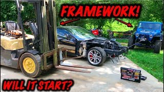 Download Rebuilding A Wrecked 2017 Corvette Z06 Part 2 Mp3 and Videos
