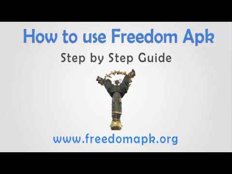 How to use Freedom apk - HD video Tutorial -  Download Freedom APK Latest Version