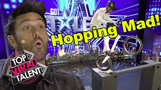 GOT TALENT AUDITION MADNESS! Incredible BIKE SKILLS Blow Judges Away