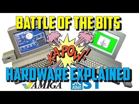 Commodore Amiga vs Atari ST: Part 1 Hardware & Operating systems explained