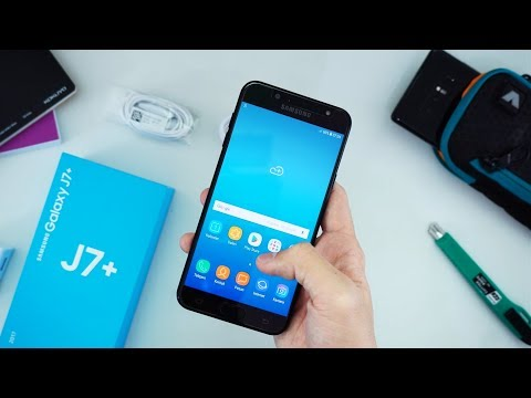 Unboxing Samsung Galaxy J7+ Indonesia!