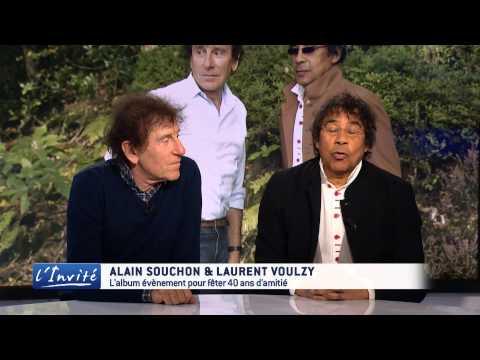 Alain Souchon  et Laurent Voulzy :