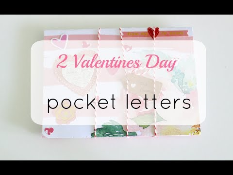 Outgoing Mail: 2 Valentine's Day Pocket Letters | Snail Mail Video