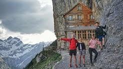 Wanderung zum Berggasthaus Aescher-Wildkirchli im Appenzellerland | Backpacking Schweiz | VLOG #64