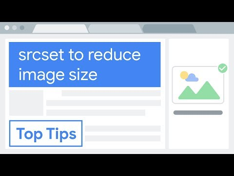 Reduce Image Size: Use Srcset To Automatically Choose The Right Image